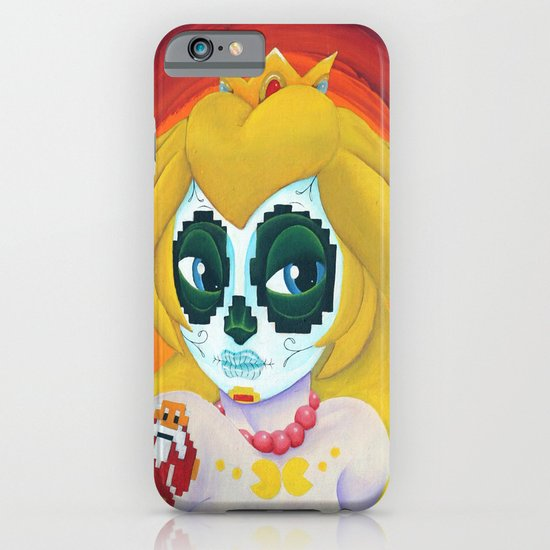 Day of the Digital Dead Princess Peach iPhone & iPod Case