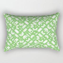 Control Your Game - Grass Rectangular Pillow