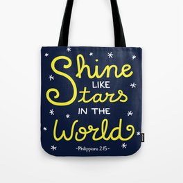 Shine Like Stars Tote Bag