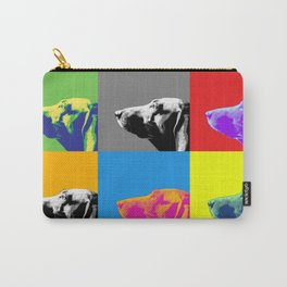 Italian Bloodhound Pop Art Carry-All Pouch