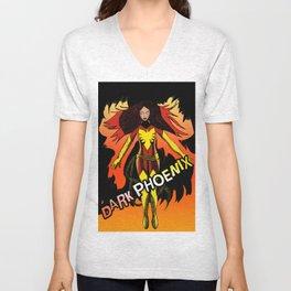 Dark Phoenix Unisex V-Neck