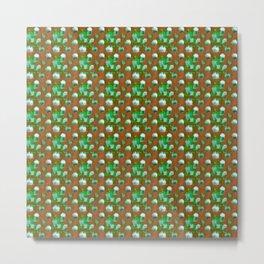 Green lights Metal Print
