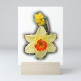 Daffodils in the Woods Mini Art Print