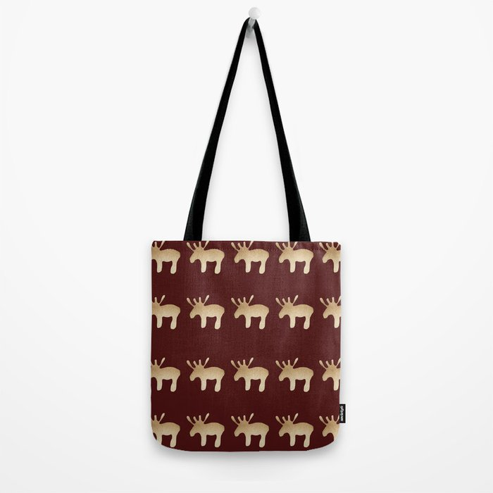 Reindeer queues #decor #buyart Tote Bag
