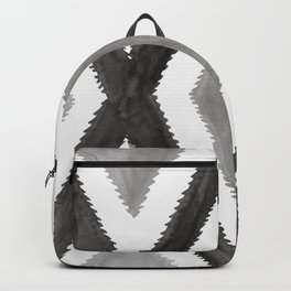 Del Rio Watercolor in Black and White Backpack