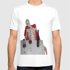 l'ultimo bicchiere? Mens Fitted Tee White SMALL
