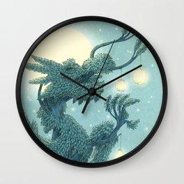 The Night Gardener - The Dragon Tree, Night Wall Clock