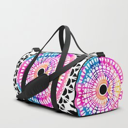 Bright Spirit Mandala Duffle Bag