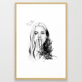 In A Way Framed Art Print