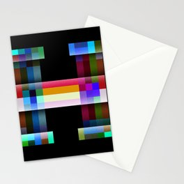 H like Hue and Saturation Stationery Cards