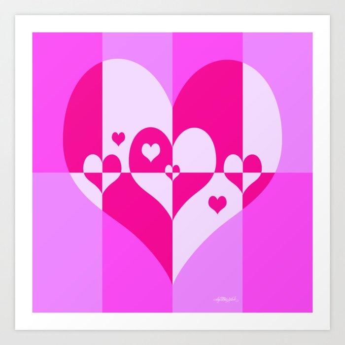 Sense of Love Art Print
