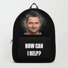 Dr. Max Goodwin // Ryan Eggold // New Amsterdam Backpack