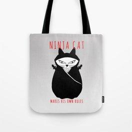 Ninja Cat Tote Bag