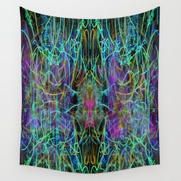 Abstract Energy 4 Wall Tapestry