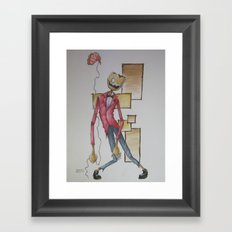 Where is my mind? Framed Art Print