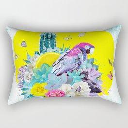FLORAL ARA Rectangular Pillow