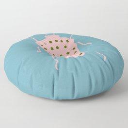 Arthropod blue Floor Pillow