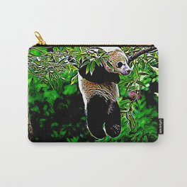 Bear Models: Panda Bear Cubs 01-01 Carry-All Pouch