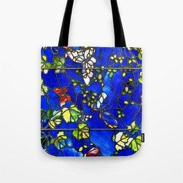 "John La Farge ""Butterflies and Foliage"" window. 1889 (1.) Tote Bag"