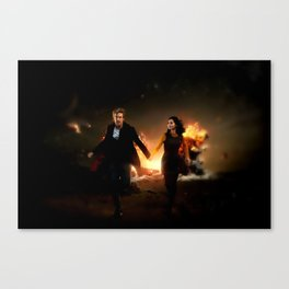 Born to Save the Universe Canvas Print