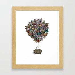 Valentino Butterfly Bag Framed Art Print