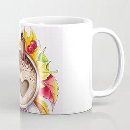 Fall and cup of coffee Coffee Mug