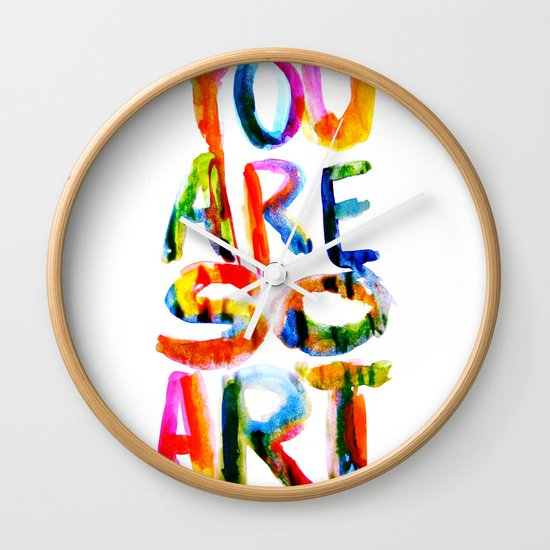 You are So Art Wall Clock