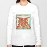 african Long Sleeve T-shirts featuring african by Silvia Gentilini