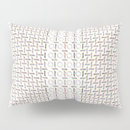 RGB graphic handdrawn pattern Pillow Sham