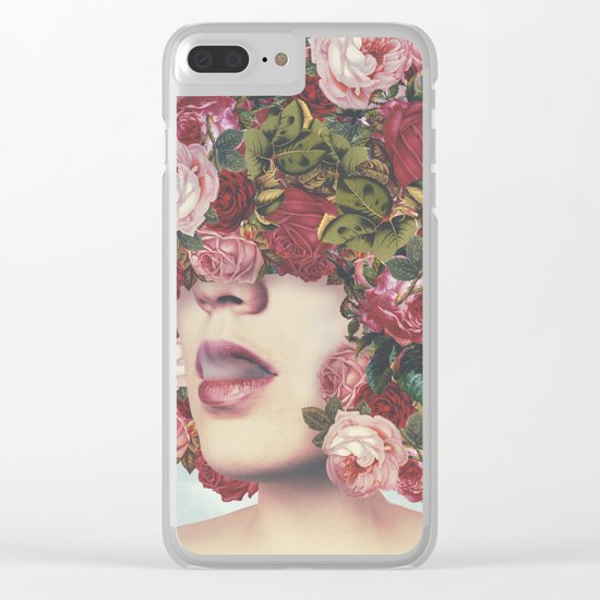 Natural Afrose Clear iPhone Case