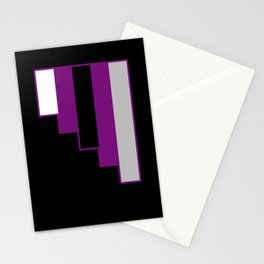 Demisexual Stationery Cards