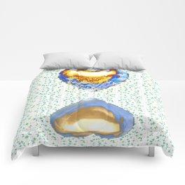 Tiger Heart Digital Collage Comforters