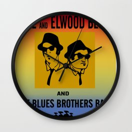 Mission From God Blues Brothers Wall Clock