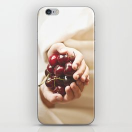 """One must ask children and birds how cherries and strawberries taste."" --Johann Wolfgang von Goethe  iPhone Skin"