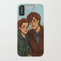 the fault in our stars iPhone & iPod Cases featuring The Fault in Our Stars  by Beverly Johnson