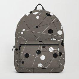 Molecular Pattern Backpack