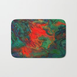 tile red and green Bath Mat