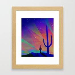 Arizona Evening Framed Art Print