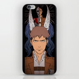 Shingeki no Kyojin - Jean card iPhone Skin