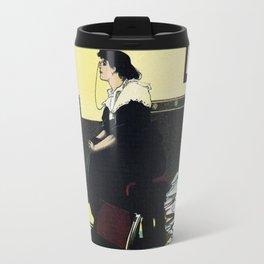 The New Woman, vintage Comedy Theatre london advert Travel Mug