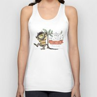 wild things Tank Tops featuring Wild Things by Sofia Verger