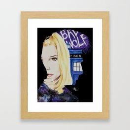 Her Name Was Rose Framed Art Print