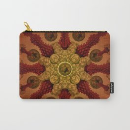 """Live Warm & Real Marine Mandala"" Carry-All Pouch"
