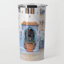Chefchaouen III - The Blue City, Morocco Travel Mug