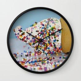 Death by Sprinkles Wall Clock