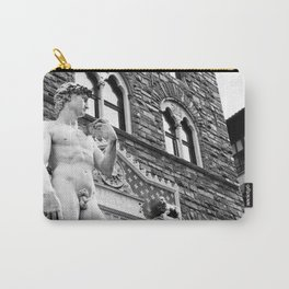 David in the Piazza Carry-All Pouch