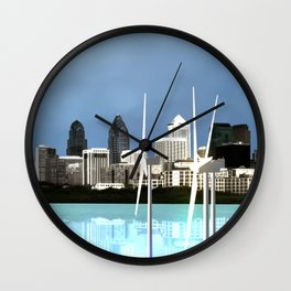 Fly: Go With The Wind Wall Clock