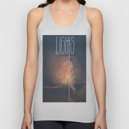 SKY LIGHTS Unisex Tank Top