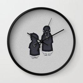Uchiha Brothers Wall Clock