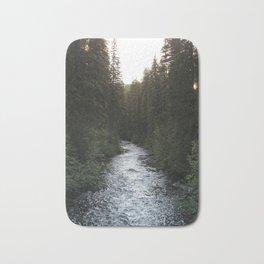 A Forest Path Bath Mat